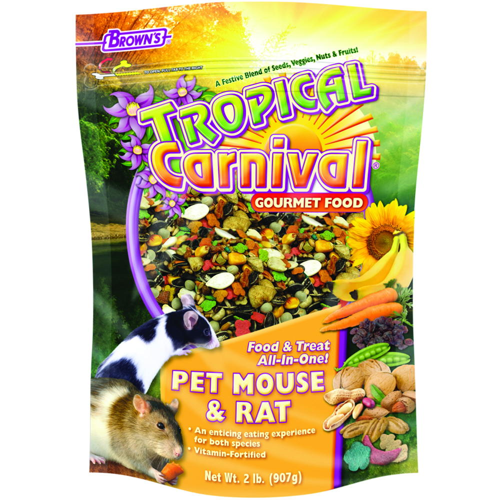 2 # TROPICAL CARNIVAL GOURMET RAT & MOUSE FOOD MP6